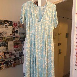 Faithfull the brand size 6 daisy midi dress